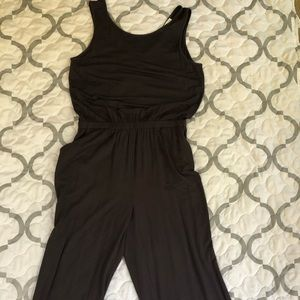LOFT Gray jumpsuit long pants
